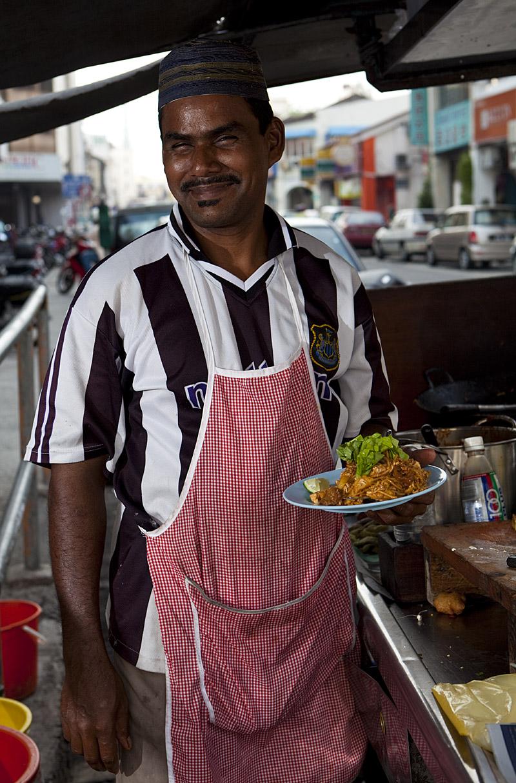 Penang mee goreng vendor
