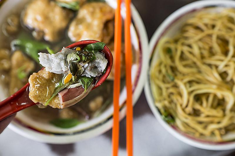 David-hagerman-squid-noodle-soup-close-gongguan-taipei-taiwan-july-27-2013