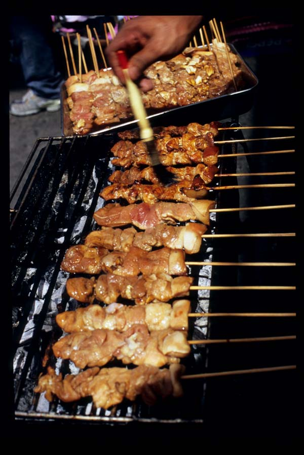 Baclaran_skewered_pork