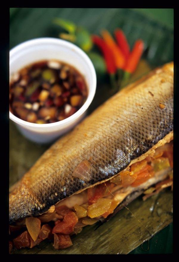 Salcedo_fish_served