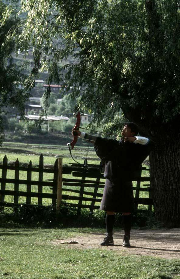 Bhutan_archery