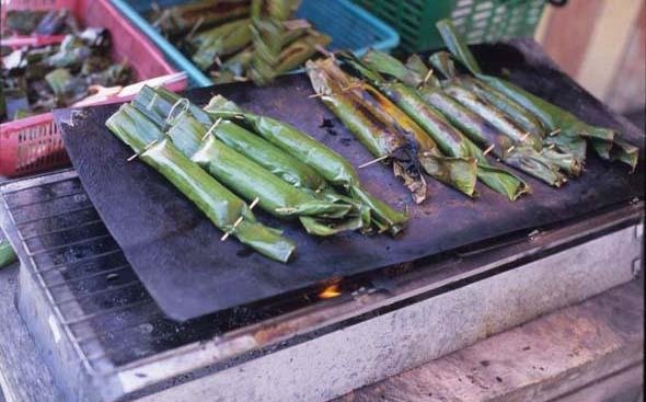 Grill_rice_leaf_griling