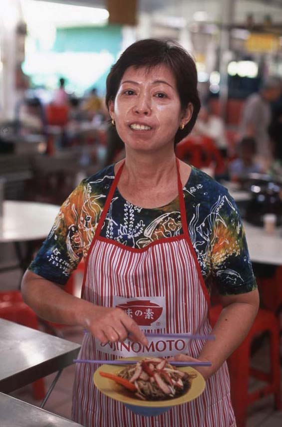 Kampar_wantan_mee_lady