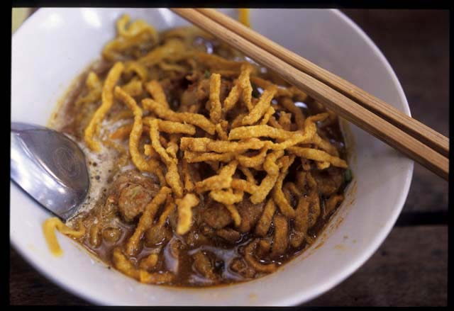 Kaosoi_lamduan_noodle_served_close