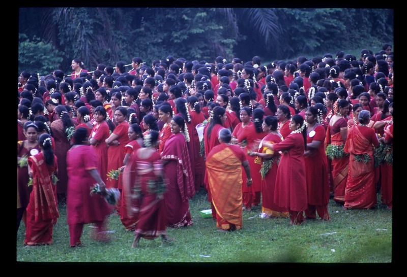 Pooja_ladies_gathered_b4_procession