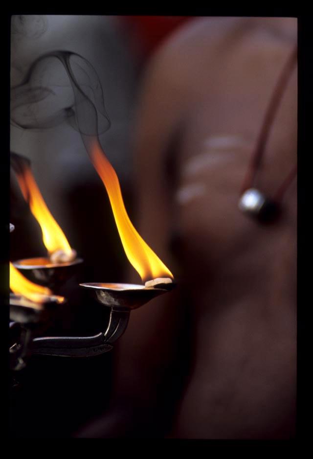 Pooja_smoke_blessing