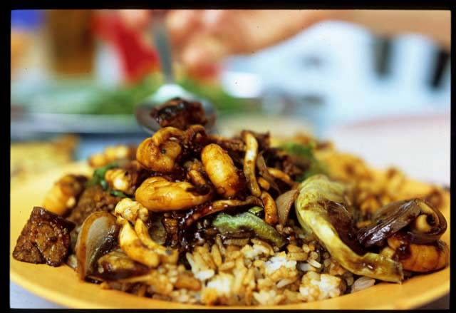 Sin_kee_mix_seafood_mix_rice_close