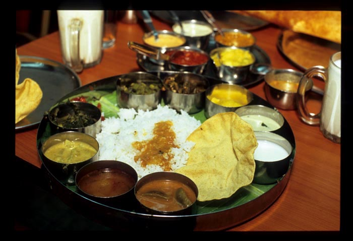 Woodlands_thali_served